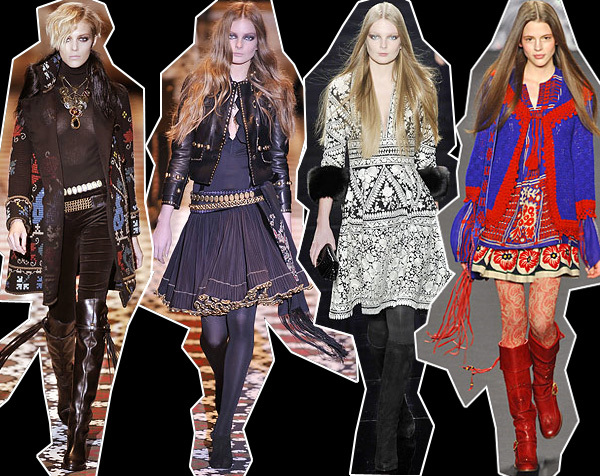 The bohemian look is a reflection of an offbeat, artsy sensibility